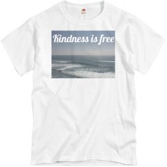 Kindness is free Ocean & sky