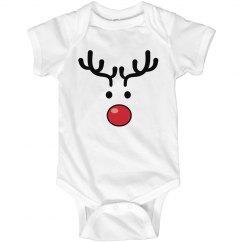 Baby's Reindeer Face
