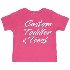 Custom Toddler Tees