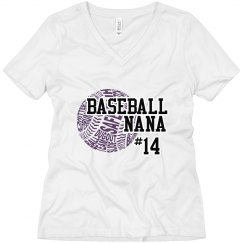 Nana baseball shirt