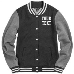 Personalize a Varsity Jacket