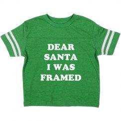 Funny I Was Framed Santa