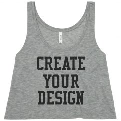Personalize a Neon Crop Top