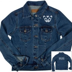 Custom Ballet Dance Denim Jacket