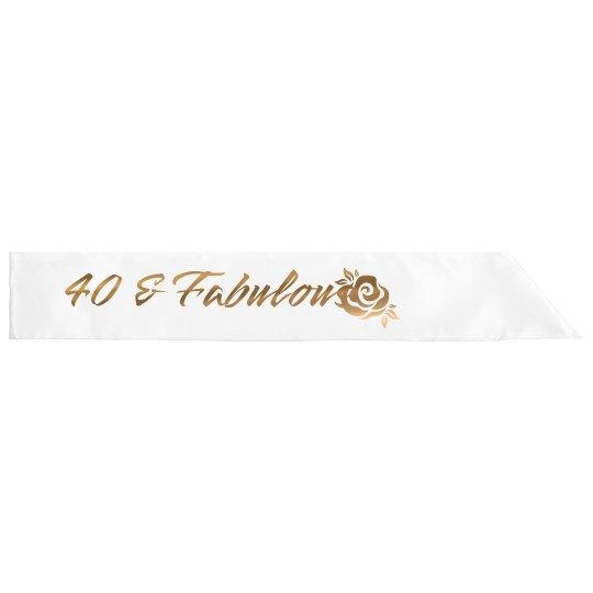 40 & Fab Birthday