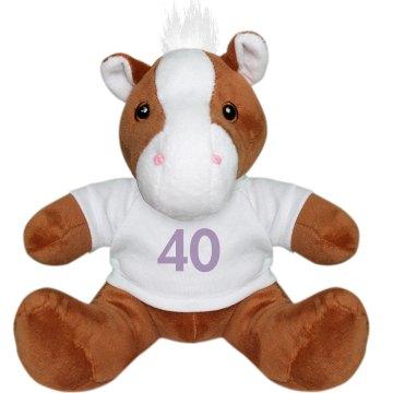 40 Plush Pony