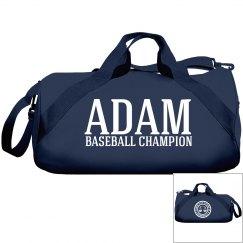 Adam. Baseball Champion