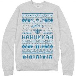 Happy Hannukah Sweatshirt