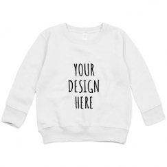 Toddler Crewneck Basic Promo Sweatshirt