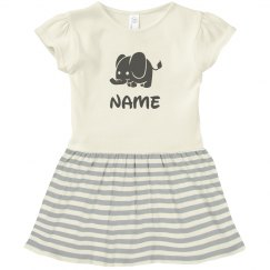 Personalized Name Elephant Gift