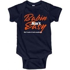 Babin ain't easy