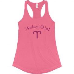 Aries Girl Tank