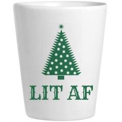 Lit AF Christmas Shots