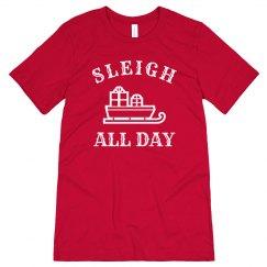 Festive Sleigh All Day Design