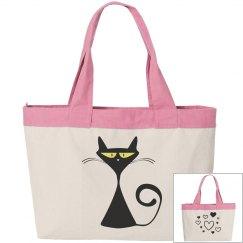 Cool Kitty Tote Bag