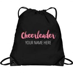 Custom Cheerleader Clinch Bag