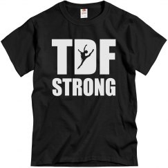 TDF Strong Unisex Tee (girl jumping)