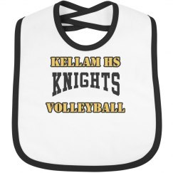 Baby's first volleyball bib
