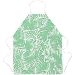 Plant Print Apron