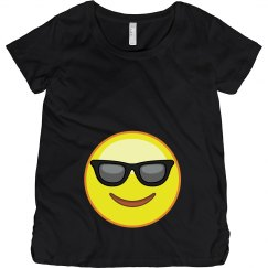 Cool Emoji Maternity Tee
