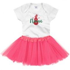 Infant Onesie with Tutu