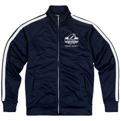 Football Mom Custom Team Sport Zip Jacket