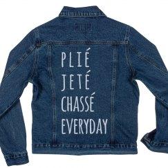 Plié, Jeté, Ballet Everyday Jacket