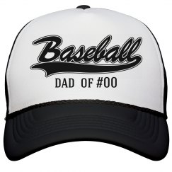Baseball Dad Of Jersey Number