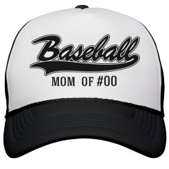 Baseball Mom Jersey Number