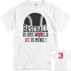 Baseball is his world