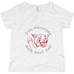 Cat meowside