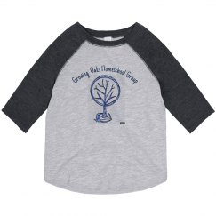 Toddler Front acorn tree long sleeve no years