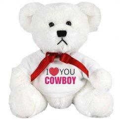 I love you Cowboy!