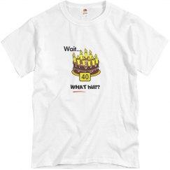 Birthday 40 - white