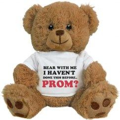 First Prom Bear