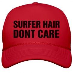 Spring Break Surfer Hair