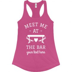 Meet Me at the Bar Custom Gymnast