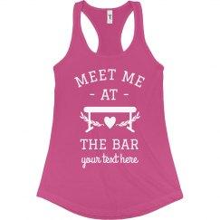 Meet Me at the Bar Custom Gymnast