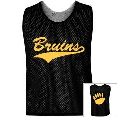 Boston Bruins Lax Pinnie