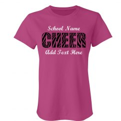 Tiger Stripe Cheer Mom