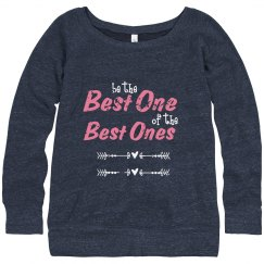 be the best one