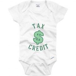 Tax Credit - Infant Onesie