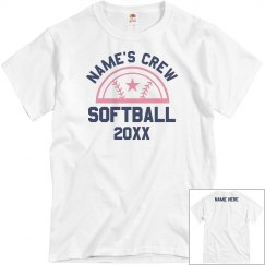 Design Your Own Cancer Softball Tee