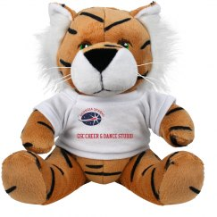 GSC 8 INCH TIGER STUFFED ANIMAL