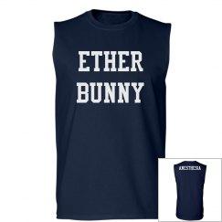 Ether bunny: Men's tank