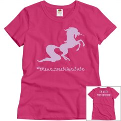 Unicorn ladies tee