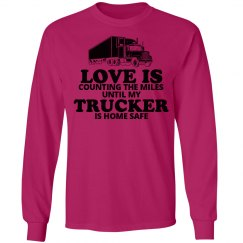 Trucker home safe