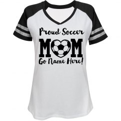 Trendy Proud Soccer Mom Shirt