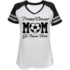 Trendy Proud Soccer Mom Shirt