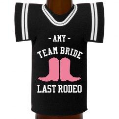 Custom Team Bride Rodeo
